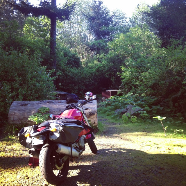Is there anything better than Camping on a Motorcycle?